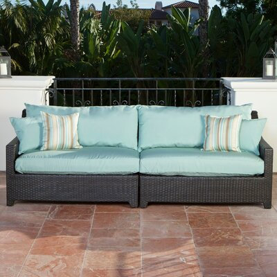 Bliss Sofa with Cushion Covers