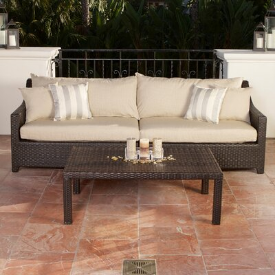 RST Outdoor Slate 3 Piece Deep Seating Group with Cushions