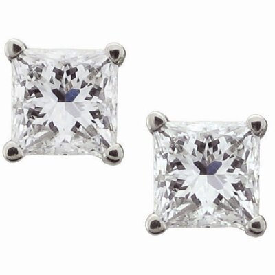 Niru 14k White Gold 1/4ct TDW Certified Diamond Stud Earrings