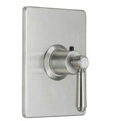 California Faucets Topanga StyleTherm Thermostatic Square Shower Trim