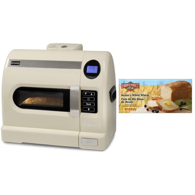 Bready Baking System With Wheat Starter Mix