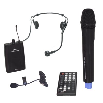 Hamilton Electronics Wireless Portable PA System with CD / DVD / MP3 Player
