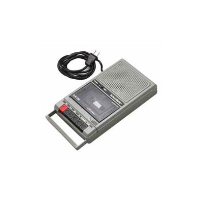 Hamilton Electronics Cassette Recorder with 2 Jacks