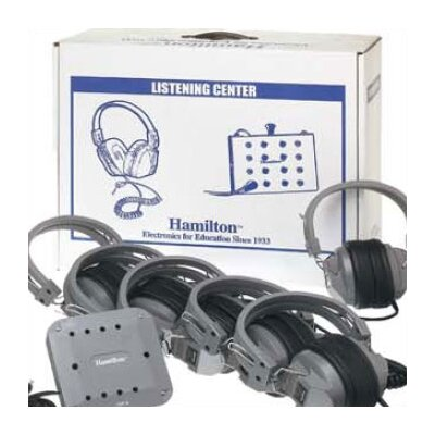 Hamilton Electronics Laminated Cardboard Carry Case for Listening Center
