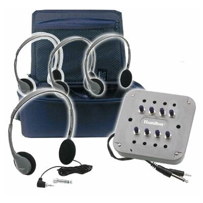 Hamilton Electronics 4 Person MP3 Listening Center