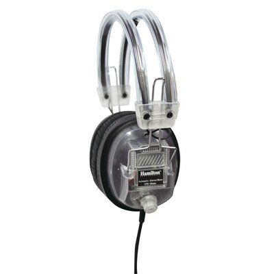 Hamilton Electronics Clear Earcup Deluxe Volume Control Headphone