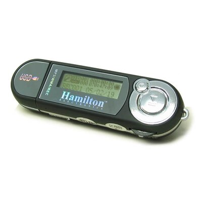 Hamilton Electronics USB MP3 Player with Built-In Microphone