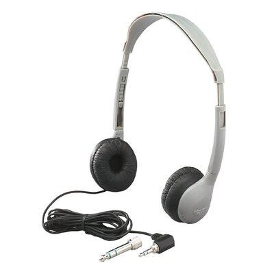 Hamilton Electronics Multimedia Personal Educational Headphone with Leatherette Ear Cushion