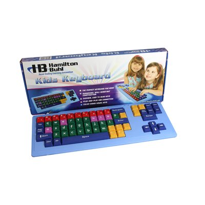 Hamilton Electronics Kids Keyboard with Oversize Keys and USB Connection