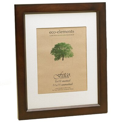 Fetco Home Decor Eco Woods Logan Picture Frame