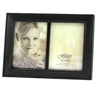 Fetco Home Decor Longwood Rustic Photo Frame