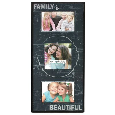 Fetco Home Decor Expressions Family is Beautiful Photo Frame