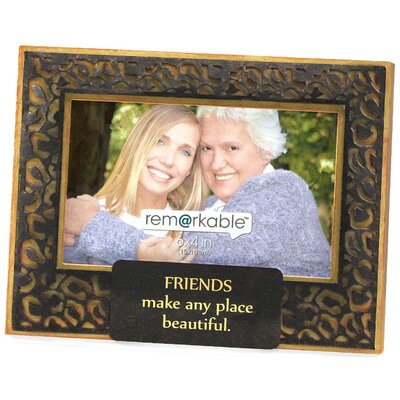 Expressions Friends Make any Place Beautiful Photo Frame