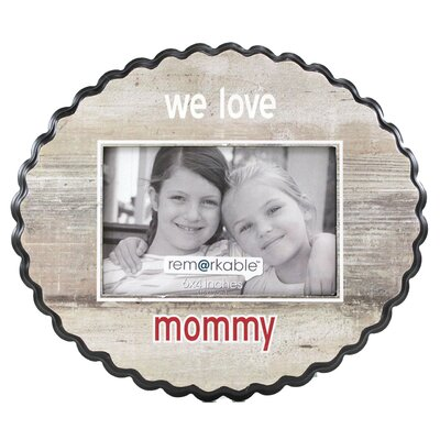 Fetco Home Decor Expressions We Love Mommy Photo Frame