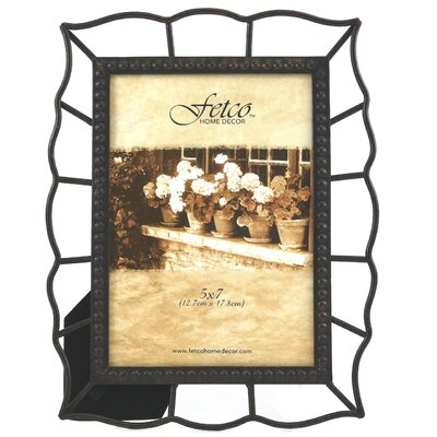 Fetco Home Decor Tuscan Filippa Beaded Bezel Photo Frame