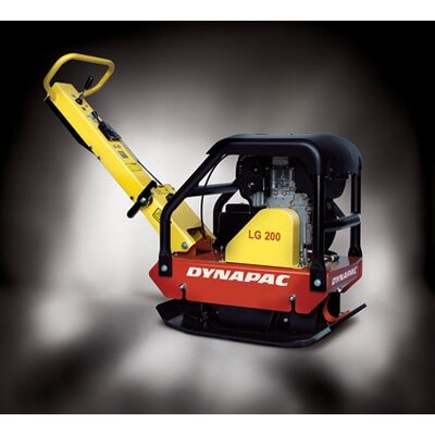 "Dynapac 20"" x 28"" Forward & Reversible Soil Plate Compactor w/ Honda GX200 6.5 HP Gas Powered Engine"