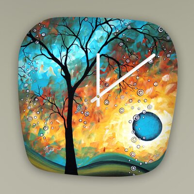 Madart Inc. Aqua Burn Clock