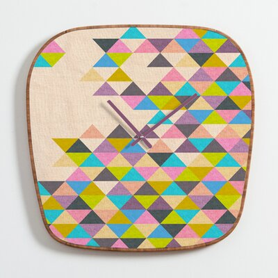 DENY Designs Bianca Green Completely incomplete Clock