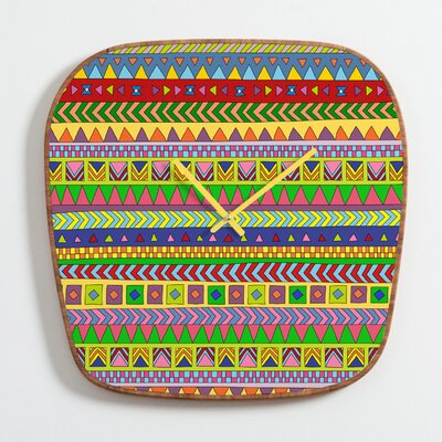DENY Designs Bianca Green Forever Young Clock
