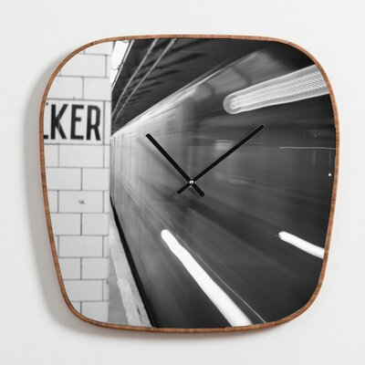 DENY Designs Leonidas Oxby The Subway Clock