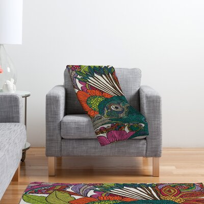 DENY Designs Valentina Ramos Alexis and The Flowers Polyester Fleece Throw Blanket