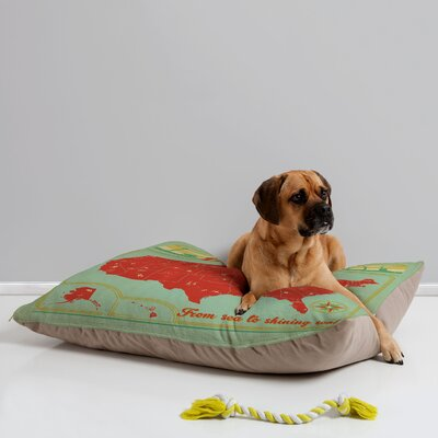 DENY Designs Anderson Design Group Explore America Pet Bed