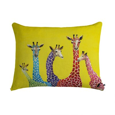DENY Designs Clara Nilles Jellybean Giraffes Pet Bed