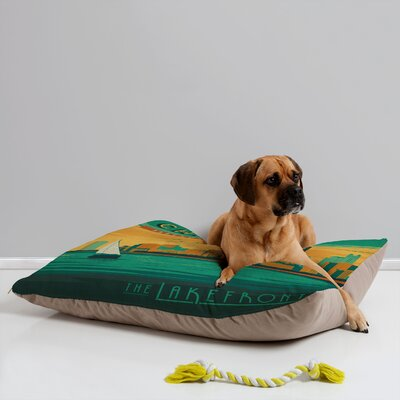 DENY Designs Anderson Design Group Lakefront Chicago Pet Bed