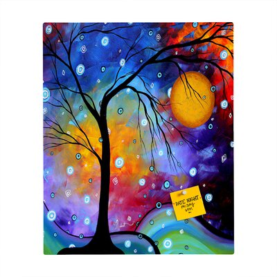 DENY Designs Madart Inc. Winter Sparkle Rectangular Magnet Board