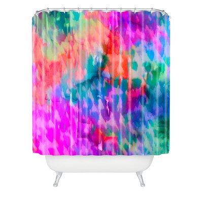 DENY Designs Amy Sia Leopard Polyester Shower Curtain