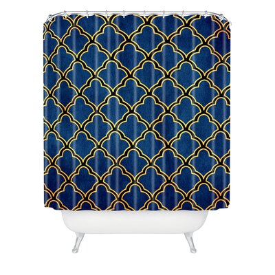 DENY Designs Arcturus Quatrefoil Polyester Shower Curtain