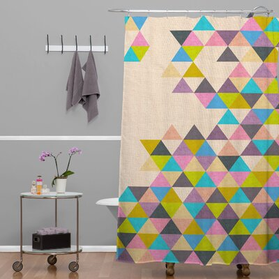 DENY Designs Bianca Woven Polyester Completelyincomplete Shower Curtain