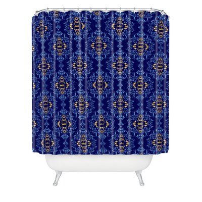 DENY Designs Belle13 Royal Damask Pattern Polyester Shower Curtain