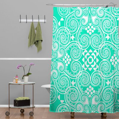 DENY Designs Budi Kwan Decographic Polyesterrr Shower Curtain