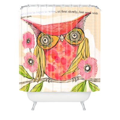 DENY Designs Cori Dantini Woven Polyester Miss Goldie Shower Curtain