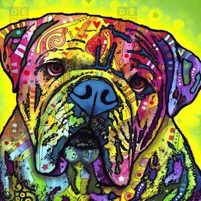 DENY Designs Dean Russo Hey Bulldog Shower Curtain