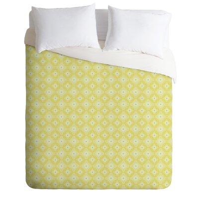 DENY Designs Caroline Okun Yellow Spirals Duvet Cover Collection