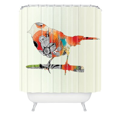 DENY Designs Iveta Abolina Polyester Little Bird Shower Curtain