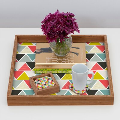 DENY Designs Heather Dutton Triangulum Coaster