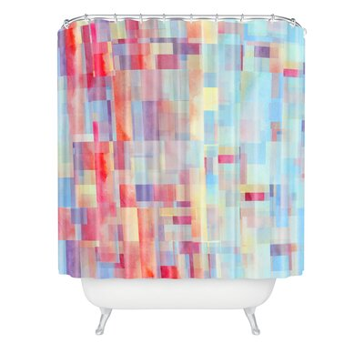 DENY Designs Jacqueline Maldonado Woven Polyester Shapeshifter Shower Curtain