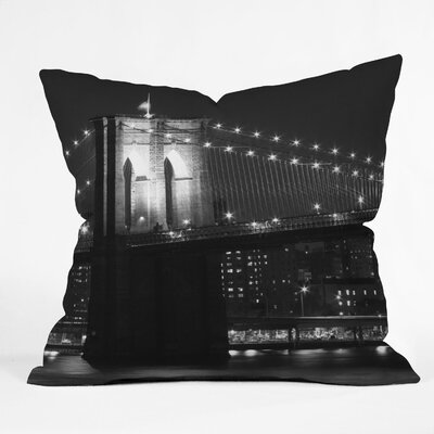 Leonidas Oxby Brooklyn 125 Indoor / Outdoor Polyester Throw Pillow