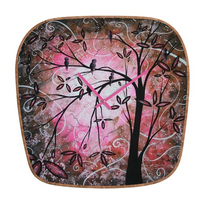 Madart Inc. Blossoms Wall Clock
