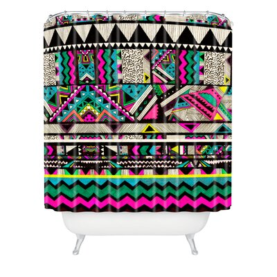 DENY Designs Kris Tate Woven Polyester Fiesta 1 Shower Curtain