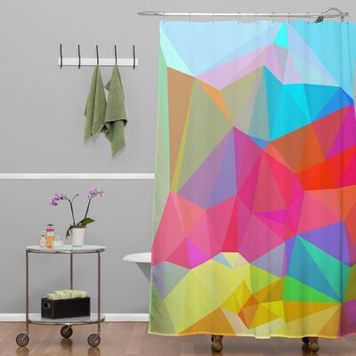 DENY Designs Three of the Possessed Crystal Crush Shower Curtain