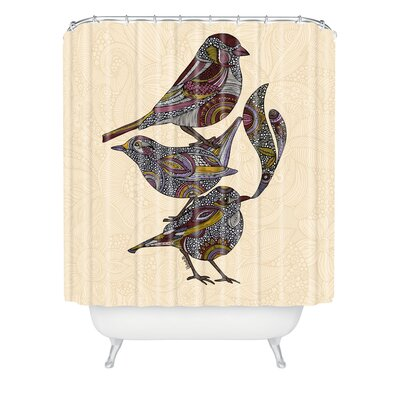 DENY Designs Valentina Ramos Woven Polyester 3 Kings Shower Curtain