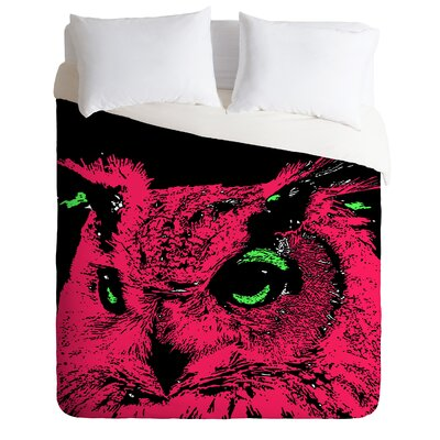 DENY Designs Romi Vega Pink Owl Duvet Cover Collection