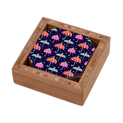 DENY Designs Rebekah Ginda Design Night Shower Coaster