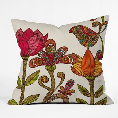DENY Designs Valentina Ramos In The Garden Indoor/Outdoor Polyester Throw Pillow