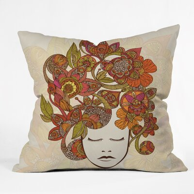 DENY Designs Valentina Ramos Its All in Your Head Polyester Throw Pillow