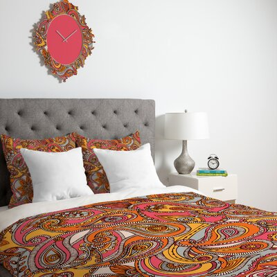DENY Designs Valentina Ramos Spring Paisley Duvet Cover Collection